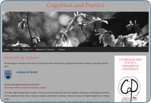 Cognition and Poetics